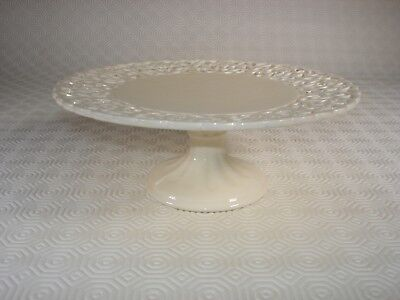 Creamware Reticulated Pedestal Comport