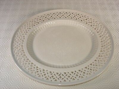 Leeds Pottery Creamware Reticulated Oval Plate