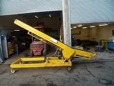 4.3 metre twin conveyor , 240v, reversible / adjustable incline. £1200+VAT
