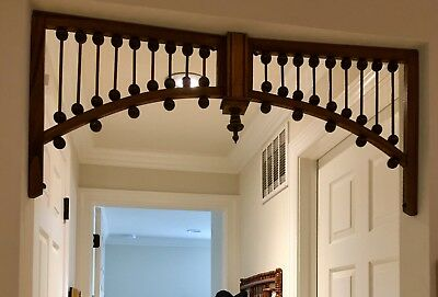 "Victorian Fretwork - Gingerbread Archway For 30""-36"" Door"
