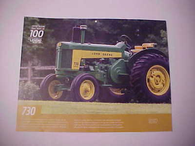 "1959 & 1960 John Deere ""Model 730"" photo from huge NOS calendar--very nice JD"