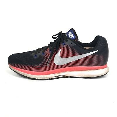detailed look 04e08 d310c NIKE AIR MAX Pegasus 34 Mens Size 12 Black Red White Running Shoes  880555-006