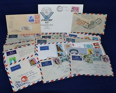 Burma & Myanmar Collection of 20 Covers & Postal Stationery 1950s-70s
