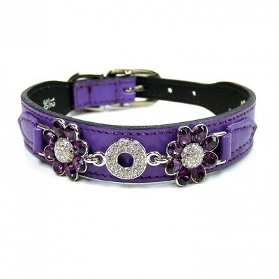Hartman and Rose Crystal Daisy Collection Collars Harnesses/ Leads, Sizes 12 -