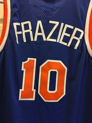 d7b53ee5 HARDWOOD CLASSICS NEW York Knicks Walt Clyde Frazier Jersey Youth ...