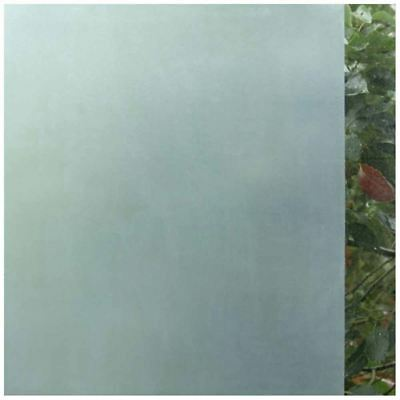 1X(Frosted Window Film Frosted Glass Sticky Back 45cm x 2m Solid color M7L1)