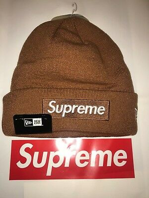 AUTHENTIC SUPREME FW16 Box Logo Beanie New Era -  48.00  4fe67545e66