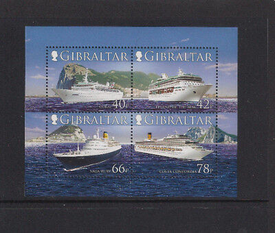 Gibraltar - 2006 Ocean Liners/ships Sgms1184 Mini Sheet - Mint Unhinged - Superb