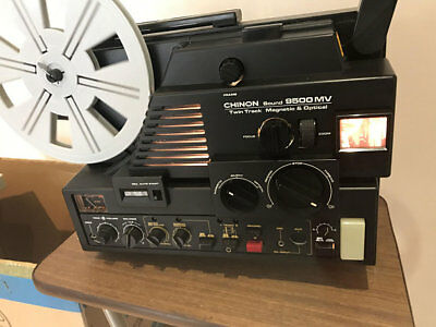 Chinon 9500 Super 8 Sound projector