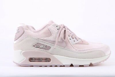 NIKE AIR MAX 90 LX LUX Particle Rose Pink Velvet 898512-600 US Women ... 0a696274c