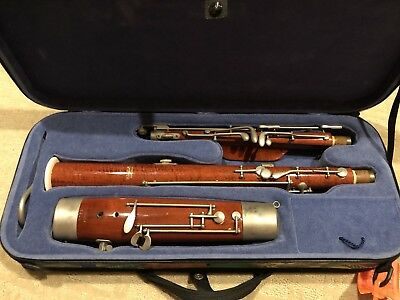 Moosmann children bassoon with case and bocal