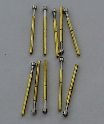 10/20 Pogo Pins  P75 B1 E2 LM2 Conical Cusp Spear Spring Loaded Test Probes USA