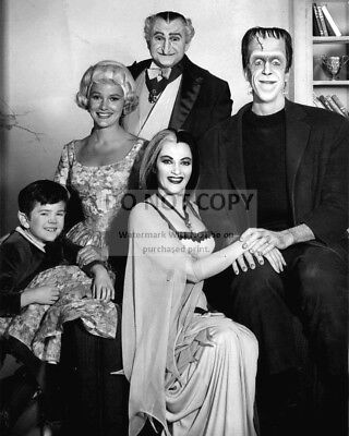 """Cast Photo From """"The Munsters"""" - 8X10 Publicity Photo (Rt262)"""