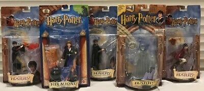 New Mattel 5 Pc. Lot Of Harry Potter Action Figure Collection