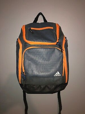 5ba092ce5d4c ADIDAS BACKPACK SCHOOL BLACK GYM BAG Load Spring Gray And Orange Yeezys  Supreme
