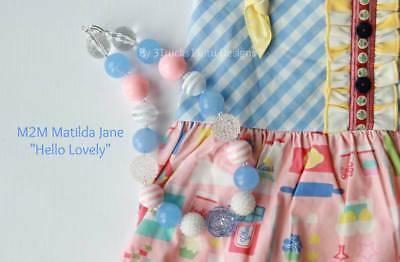 Girls Boutique Chunky Gumball Necklace Photo Prop M2M Matilda Jane NEW Child