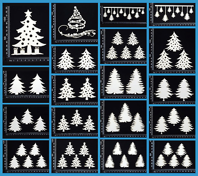 White Chipboard - Christmas - Collection Seven