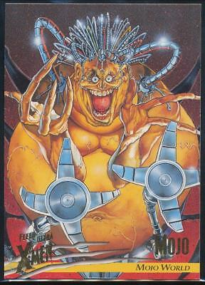 1996 X-Men Ultra Wolverine Trading Card #56 Mojo