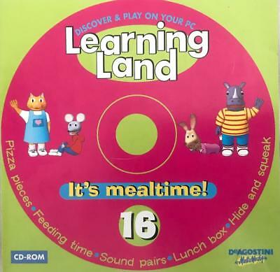 Learning Land 16 It's Mealtime Windows 7 PC Game Numbers Letters Nature Counting