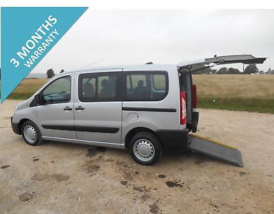 2012 Peugeot Expert Tepee 4 Seat Wheelchair Accessible Disabled Vehicle