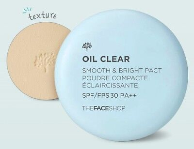 The Face Shop Oil Clear Smooth & Bright Powder 9g SPF30 PA++ 2 Type