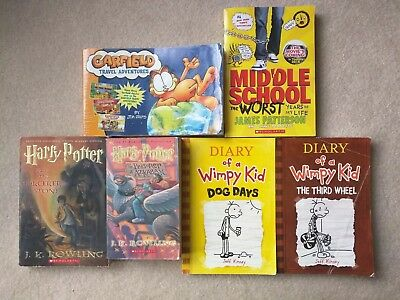 Kids Books Lot Of 6 Books