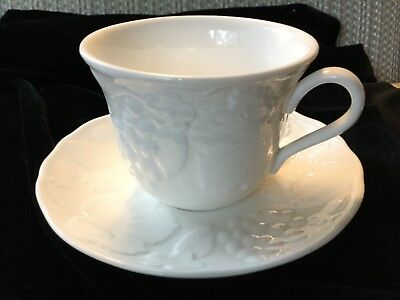 """Wedgwood ''Strawberry & Vine"""" - Cup & Saucer - 26 Available - Md In England"""