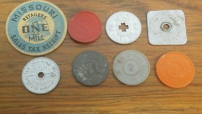 8 State Tax Tokens  L283