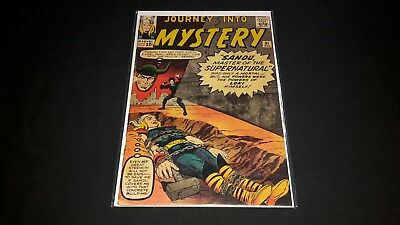 Thor #91 - Marvel Comics - April 1963 - 1st Print - Journey Into Mystery