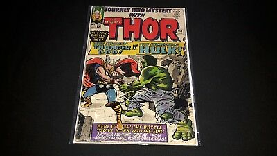 Thor #112 - Marvel Comics - January 1965 - 1st Print Journey Into Mystery - HULK