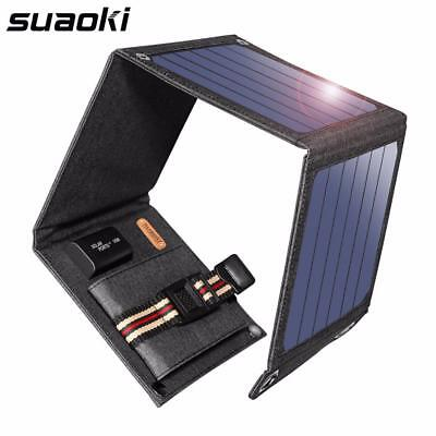 Solar Panels Cells Portable Sun Power Charger 14W 5V 2.1A USB Output Devices