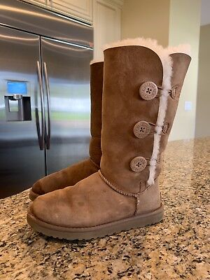 9ee351a06c5 UGG 1015638 MICHY Luxe Quilt Women'S Boots Chocolate Brown Suede -Us ...
