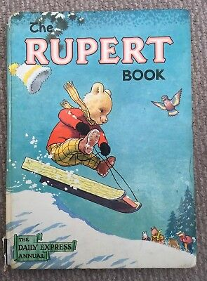 Rare Vintage The Rupert Annual 1956 Good Condition Price Unclipped 4'6 Net.