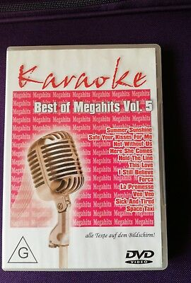 "Karaoke DVD ""Best of Megahits Vol 5"
