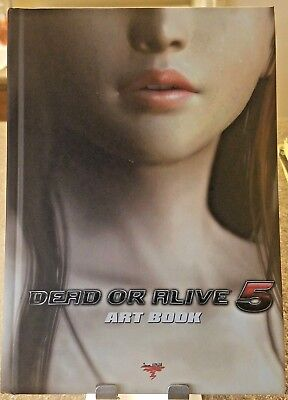Dead or Alive 5 Art Illustration BOOK ONLY Tecmo Team Ninja Great Condition