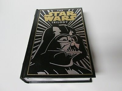 The Star Wars Trilogy Darth Vader Hardcover Leather Bound Book 2012