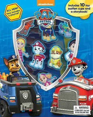 Paw Patrol Stuck on Stories Activity Book Play Set Book with 10 Toy Suction Cups