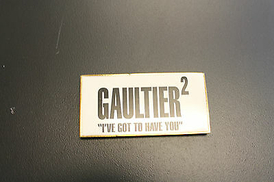 "Jean Paul Gaultier - Gaultier 2 ""I've Got to Have you"" magnet jacket advertising"