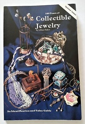 100 Years of Collectible Jewelry by Lillian Baker 1978 UK Paperback Book