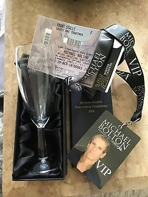 Michael Bolton Time, Love & Tenderness 2018 Tour Merchandise