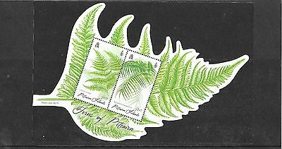 Pitcairn Islands 2016   Ferns M/S MNH/UMM