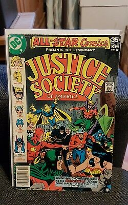 All Star Comics presents Justice Society of America 69