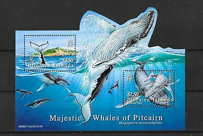 Pitcairn Islands 2006 Majestic Whales of Pitcairn M/S723  MNHUMM