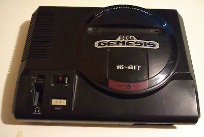 SEGA GENESIS MODEL 1 HD HIGH DEFINITION GRAPHICS *Non TMSS* CONSOLE  ONLY-TESTED