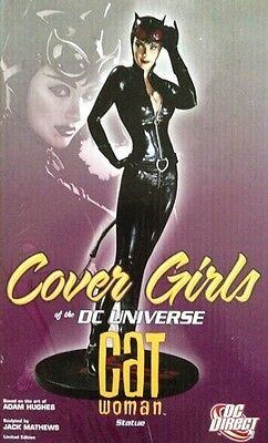 ADAM HUGHES ~ CATWOMAN STATUE COVER GIRLS OF THE DC UNIVERSE   Limited Ed  NIB