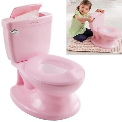 Summer Infant My Size Potty Baby Kid's Toilet Trainer Seat Flip Up Chair Pink