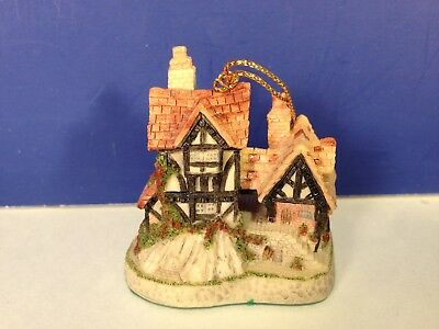 David Winter Cottages WILL-O-THE-WISP ORNAMENT w/ box Combine Shipping!