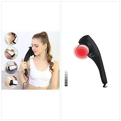 6 Interchangeable Nodes Massager Handheld Deep Percussion Massager