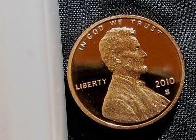 2010-S San Francisco Mint Lincoln Shield Cent Proof