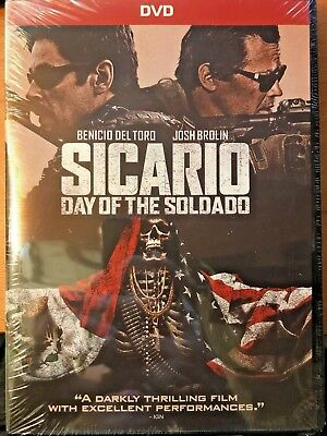 BRAND NEW Sicario: Day of the Soldado (DVD 2018) FREE SHIPPING/SHIP WITHIN 24HRS